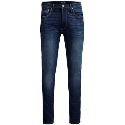JACK & JONES Male Skinny Fit Jeans Liam ORIGINAL AM 014 2730Blue Denim Bekleidung