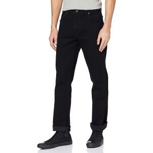 Wrangler Herren Durable Regular Fit Straight Leg Jeans Bekleidung