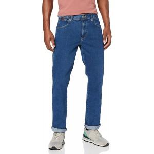 Wrangler Herren Texas Contrast Straight Jeans Bekleidung