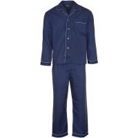Champion Herren-Schlafanzug Baumwolle lang einfarbig Bekleidung
