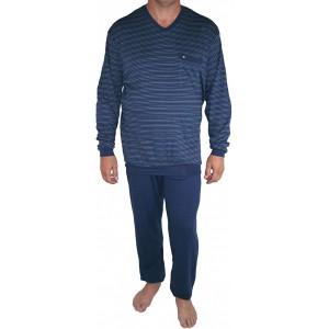 Seidensticker Herren Zweiteiliger Schlafanzug Anzug Lang Bekleidung