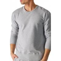 Mey 23540-620 Men's Enjoy Grey Solid Colour Pajama Pyjama Top Mey Bekleidung
