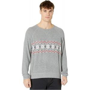 PJ Salvage Herren Long Sleeve Pyjama-Oberteil Top Bekleidung