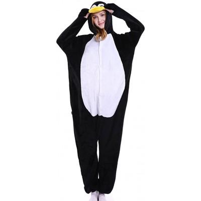 LSHEL Erwachsenen Tier Pyjama Jumpsuit Cosplay Unisex Cartoon Karneval Halloween Kostüm Fleece Overall Pyjamas Bekleidung