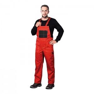 Reis MMSCB_50 Multi Master Schutzlatzhose Rot-Schwar 50 Größe Bekleidung