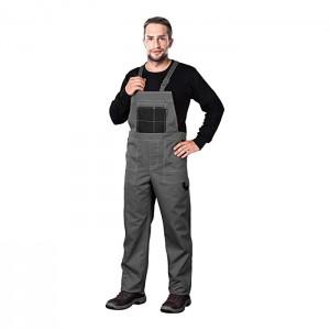 Reis MMSSB_58 Multi Master Schutzlatzhose Grau-Schwarz 58 Größe Bekleidung