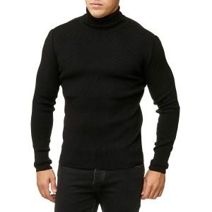 Red Bridge Herren Rollkragen Pullover Sweatshirt Strickpullover Bekleidung