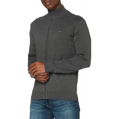 MUSTANG Herren Edgar Zip Cardigan Sweatshirt Bekleidung
