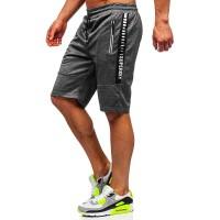 BOLF Herren Hose Kurzehose Sporthose Street Style täglicher Stil 7G7 Bekleidung