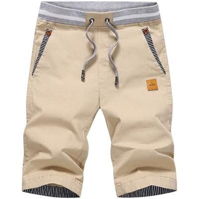 CLOUSPO Herren Shorts Bermuda Shorts Chino Shorts Sommer Kurze Hosen Bekleidung