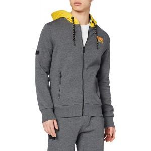 Superdry Herren Crafted Check Zip Hood Kapuzenpullover Bekleidung