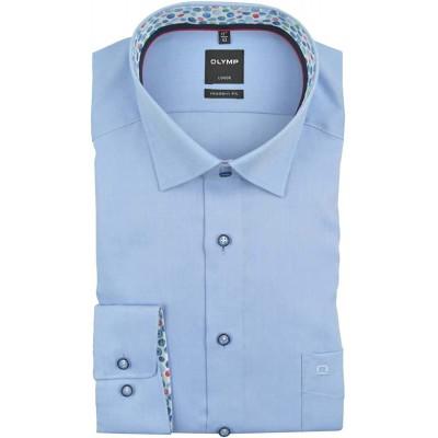 OLYMP Herren Hemd Modern Fit Langarm | Under-Button-Down Kragen Bekleidung