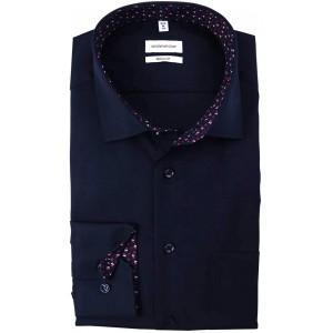 Seidensticker Herren Regular Fit Langarm Poplin Hemd Bekleidung