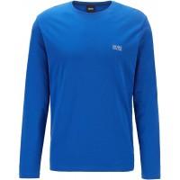 BOSS Herren Mix&Match LS-Shirt R Regular-Fit Loungewear-Longsleeve aus elastischer Baumwolle Bekleidung