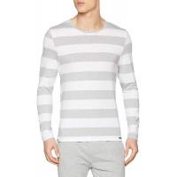 Skiny Herren Sloungewear Langarmshirt Schlafanzugoberteil Bekleidung