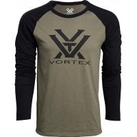 Vortex Optics Raglan Core Logo Langarmshirts Bekleidung