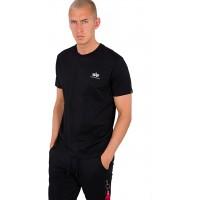 ALPHA INDUSTRIES Herren Backprint T T-Shirt Bekleidung