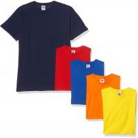 Fruit of the Loom Herren T-Shirt 5er Pack Bekleidung
