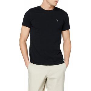 GANT Herren The Original Solid T-Shirt Bekleidung