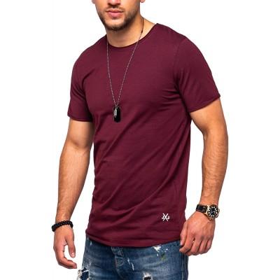 JACK & JONES Herren O-Neck T-Shirt Infinity Regular Fit Longshirt Casual Top Bekleidung