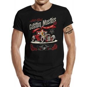 Rockabilly Hotrod Racer T-Shirt Hot-Rod Shop Bekleidung