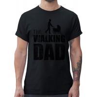 Shirtracer The Walking Dad Herren T-Shirt und Männer Tshirt Bekleidung