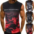 Celucke Ärmelloses T-Shirt Camouflage Tank Top Herren Sport Muskelshirt Tanktops Männer Tankshirt Classic unterhemden Sommer Fitness Jogging Lässiges Bekleidung