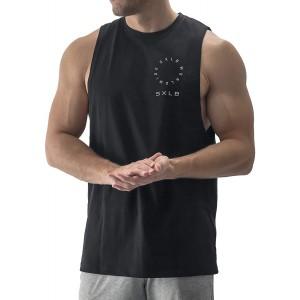 Sixlab Worldwide Cut Off Tank Top Herren Muskelshirt Gym Fitness Bekleidung