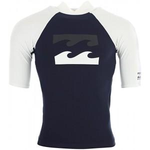 Billabong Team Herren Lycra Shirt S Marineblau Bekleidung