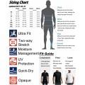 HUGE SPORTS Splice Herren Rashguard UV-Schutz UPF 50+ Skins Long Sleeve Split S Bekleidung