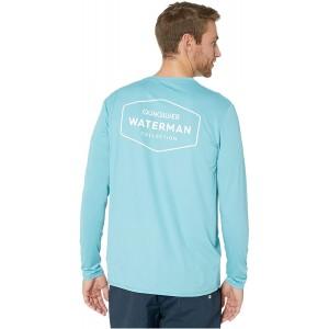 Quiksilver Herren Gut Check Ls Long Sleeve Rashguard Surf Shirt Rash Guard Hemd Bekleidung