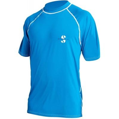 SCUBAPRO Rash Guard Loose Fit T-Shirt UPF 50 Blau Bekleidung