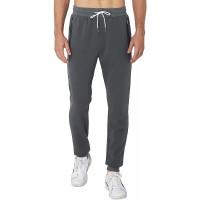 ALISISTER Jogginghose Herren Baumwolle Slim Fit Trainingshose Männer Beiläufig Elastische Taille Sporthose Jogger mit Reißverschlusstaschen M-XXL Bekleidung