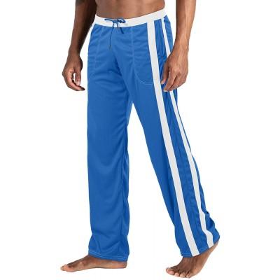 EKLENTSON Herren Mesh-Trainingshose Jogginghose Sporthose Loose Fit Freizeit Leichte Atmungsaktiv Bekleidung